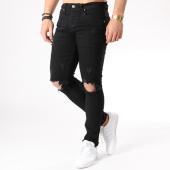 /achat-jeans/aarhon-jean-slim-troue-a73-noir-133442.html