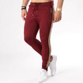 /achat-pantalons-joggings/project-x-pantalon-jogging-bandes-brodees-88184401-bordeaux-beige-133506.html