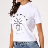 /achat-t-shirts/anthill-tee-shirt-crop-femme-logo-blanc-133633.html