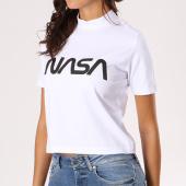 /achat-t-shirts/nasa-tee-shirt-crop-femme-worm-logo-blanc-133627.html
