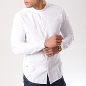 /achat-chemises-manches-longues/paname-brothers-chemise-manches-longues-carla-blanc-133677.html