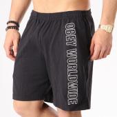 /achat-shorts-jogging/obey-short-jogging-worldwide-noir-blanc-133927.html