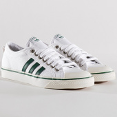 /achat-baskets-basses/adidas-baskets-nizza-cq2327-footwear-white-core-green-134058.html