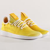 /achat-baskets-basses/adidas-baskets-tennis-hu-holi-pharrell-williams-da9617-footwear-white-yellow-134155.html