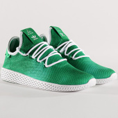 /achat-baskets-basses/adidas-baskets-tennis-hu-holi-pharrell-williams-da9619-footwear-white-green-134156.html