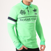 /achat-polos-manches-longues/geographical-norway-polo-manches-longues-patchs-brodes-kockpit-vert-134068.html