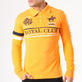 /achat-polos-manches-longues/geographical-norway-polo-manches-longues-patchs-brodes-kockpit-orange-134085.html