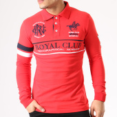 /achat-polos-manches-longues/geographical-norway-polo-manches-longues-patchs-brodes-kockpit-rouge-134093.html
