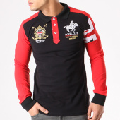 /achat-polos-manches-longues/geographical-norway-polo-manches-longues-patchs-brodes-koduk-noir-rouge-134107.html