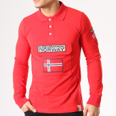 /achat-polos-manches-longues/geographical-norway-polo-manches-longues-patchs-brodes-kiclass-rouge-134125.html
