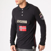 /achat-polos-manches-longues/geographical-norway-polo-manches-longues-patchs-brodes-kiclass-noir-134137.html