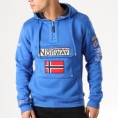 /achat-sweats-capuche/geographical-norway-sweat-capuche-patchs-brodes-gymclass-bleu-roi-134271.html