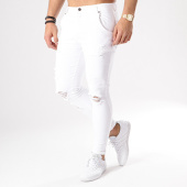 /achat-jeans/siksilk-jean-skinny-troue-distressed-13121-blanc-134024.html