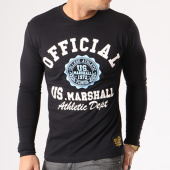 /achat-t-shirts-manches-longues/us-marshall-tee-shirt-manches-longues-jofficial-noir-134147.html