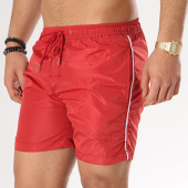 /achat-maillots-de-bain/crossby-short-de-bain-bandes-brodees-papaye-rouge-134482.html