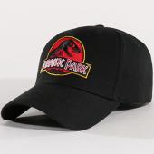 /achat-casquettes-de-baseball/jurassic-park-casquette-mcp001-noir-rouge-134611.html