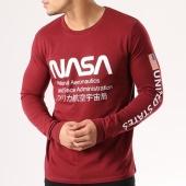 /achat-t-shirts-manches-longues/nasa-tee-shirt-manches-longues-admin-bordeaux-134599.html