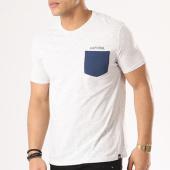 /achat-t-shirts-poche/kaporal-tee-shirt-poche-haygo-gris-chine-bleu-marine-134781.html