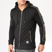 /achat-sweats-zippes-capuche/project-x-sweat-zippe-capuche-avec-bandes-88183318-noir-dore-134859.html