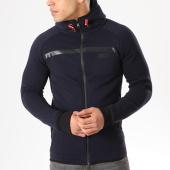 /achat-sweats-zippes-capuche/canadian-peak-sweat-zippe-capuche-geack-bleu-marine-135003.html