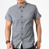 /achat-chemises-manches-courtes/paname-brothers-chemise-manches-courtes-coba-bleu-marine-blanc-135032.html