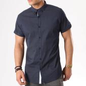 /achat-chemises-manches-courtes/paname-brothers-chemise-manches-courtes-casa-bleu-marine-blanc-135037.html