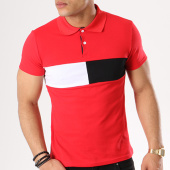 /achat-polos-manches-courtes/aarhon-polo-manches-courtes-aj1843-rouge-135838.html