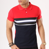 /achat-polos-manches-courtes/aarhon-polo-manches-courtes-aj11863-rouge-bleu-marine-blanc-135852.html