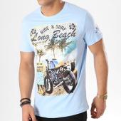 /achat-t-shirts/brave-soul-tee-shirt-waves-bleu-clair-135895.html