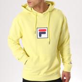 /achat-sweats-capuche/fila-sweat-capuche-shawn-jaune-135960.html
