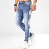 /achat-jeans/aarhon-jean-slim-avec-bandes-a91-bleu-denim-136031.html
