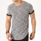 /achat-t-shirts-longs-oversize/classic-series-tee-shirt-oversize-1648-noir-chine-136116.html