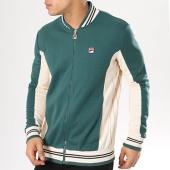 /achat-vestes/fila-veste-zippee-settanta-684349-vert-beige-136546.html