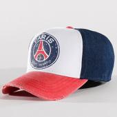 /achat-casquettes-de-baseball/psg-casquette-vintage-paris-saint-germain-bleu-marine-blanc-rouge-136444.html