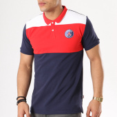 /achat-polos-manches-courtes/psg-polo-manches-courtes-tricolore-bleu-marine-blanc-rouge-136495.html