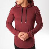 /achat-sweats-capuche/lbo-sweat-capuche-oversize-406-bordeaux-136684.html