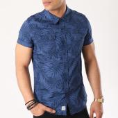 /achat-chemises-manches-courtes/mz72-chemise-manches-courtes-cambodia-bleu-marine-floral-136936.html