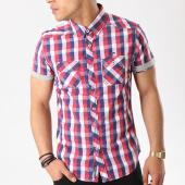 /achat-chemises-manches-courtes/mz72-chemise-manches-courtes-champion-rouge-blanc-bleu-marine-136951.html