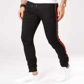 /achat-jogger-pants/project-x-jogger-pant-bandes-brodees-88180053-noir-rouge-137021.html