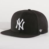 /achat-snapbacks/47-brand-casquette-snapback-mlb-new-york-yankees-captain-nshot17wbp-noir-blanc-137128.html