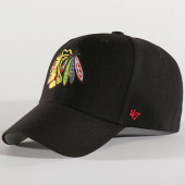 /achat-casquettes-de-baseball/47-brand-casquette-nhl-chicago-blackhawks-mvp-04wbv-noir-137308.html