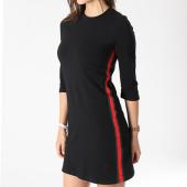 /achat-robes/girls-only-robe-avec-bandes-femme-vj17163-noir-137249.html