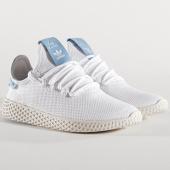 /achat-baskets-basses/adidas-baskets-femme-tennis-hu-pharrell-williams-cq2302-footwear-ash-blue-137597.html