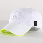 /achat-casquettes-de-baseball/sergio-tacchini-casquette-zuru-blanc-jaune-fluo-137505.html
