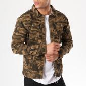 /achat-vestes-jean/sixth-june-veste-jean-m3190hja-vert-kaki-camouflage-137538.html