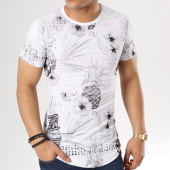 /achat-t-shirts-longs-oversize/classic-series-tee-shirt-oversize-15-blanc-floral-137783.html
