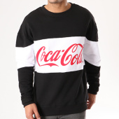 /achat-sweats-col-rond-crewneck/coca-cola-sweat-crewneck-mc166-noir-blanc-137691.html
