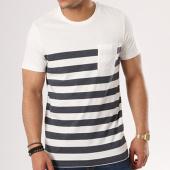 /achat-t-shirts-poche/selected-tee-shirt-poche-petersen-blanc-bleu-marine-137871.html