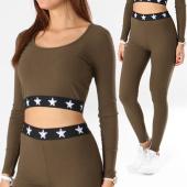 /achat-ensembles-survetement/girls-only-ensemble-top-crop-legging-femme-ep15376-vert-kaki-137930.html