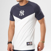 /achat-t-shirts/majestic-athletic-tee-shirt-klass-new-york-yankees-bleu-marine-blanc-138446.html